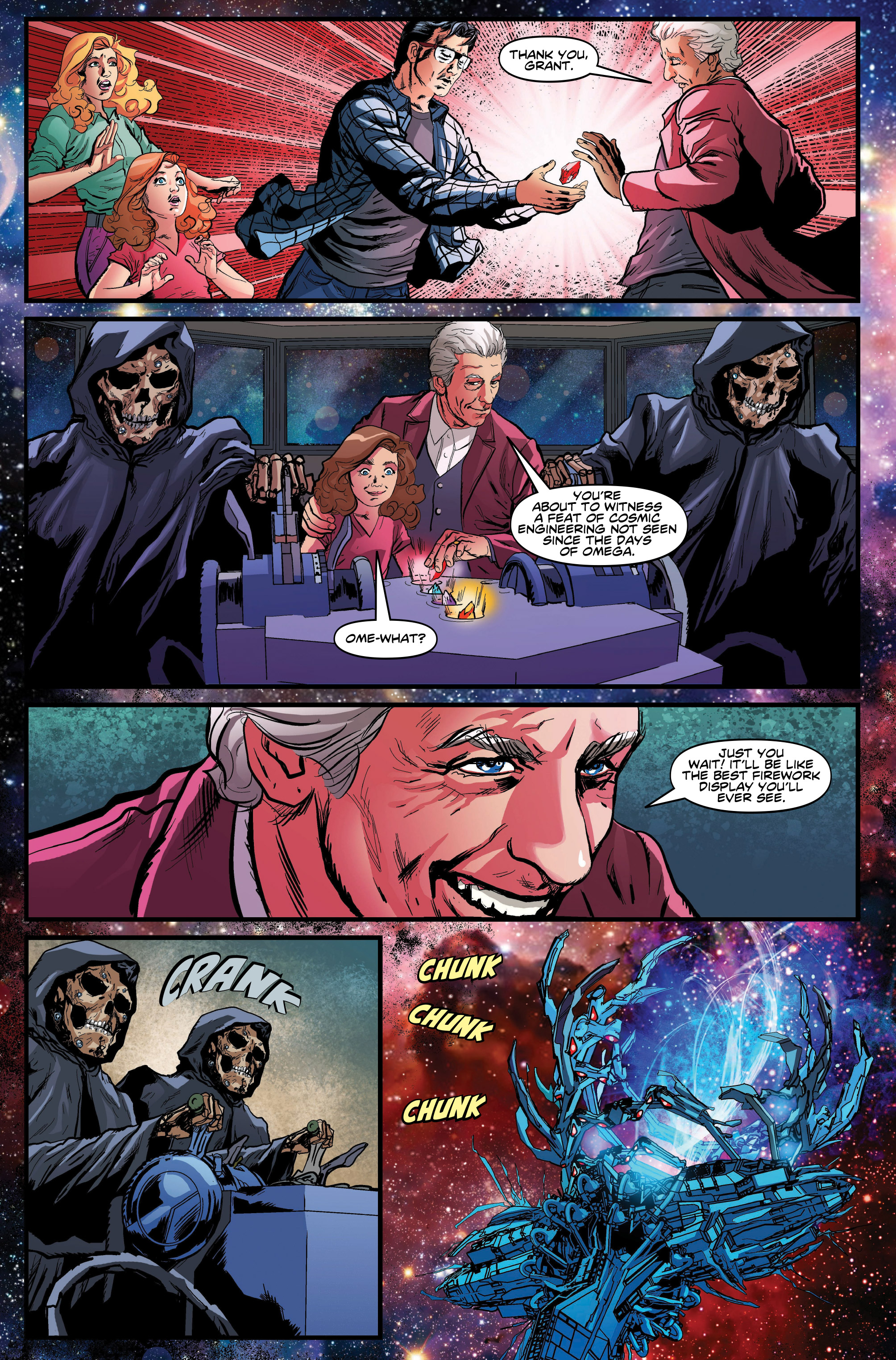Read online Doctor Who: Ghost Stories comic -  Issue #8 - 8