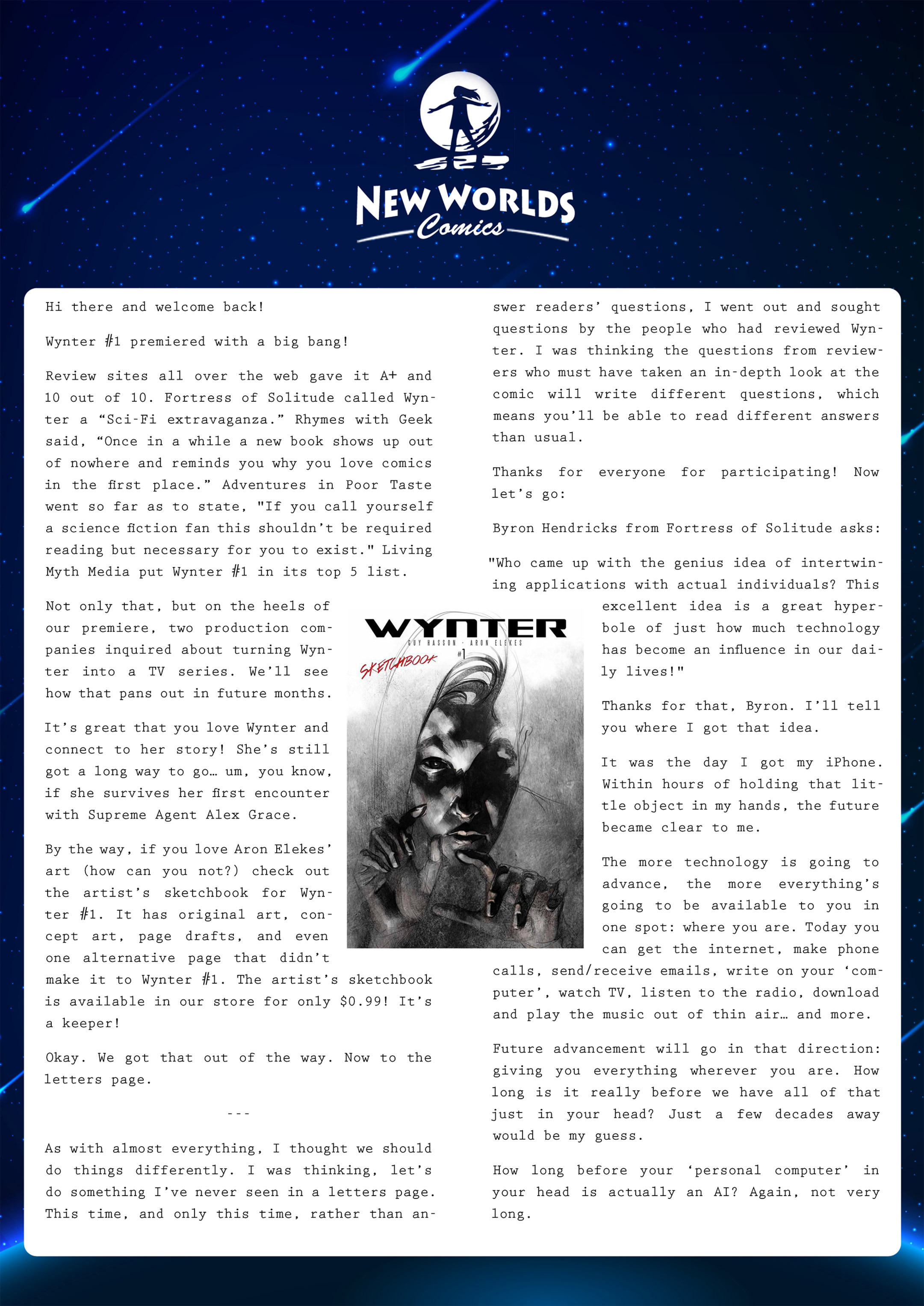 Read online Wynter comic -  Issue #2 - 24