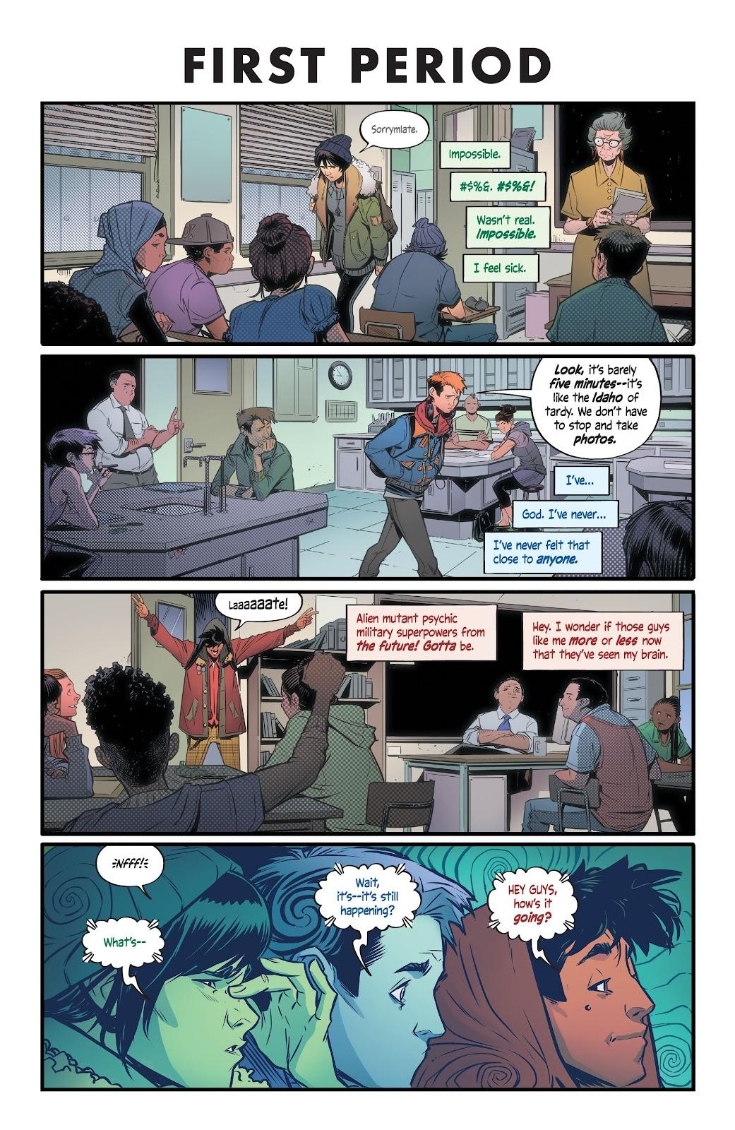 Read online Alienated comic -  Issue #1 - 13