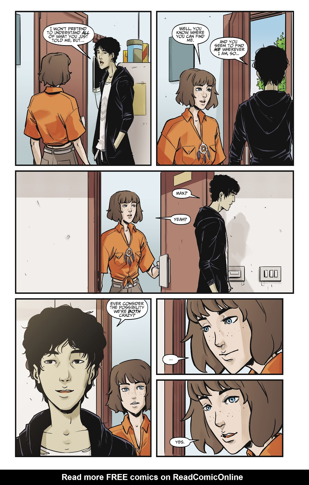 Read online Life is Strange comic -  Issue #7 - 17