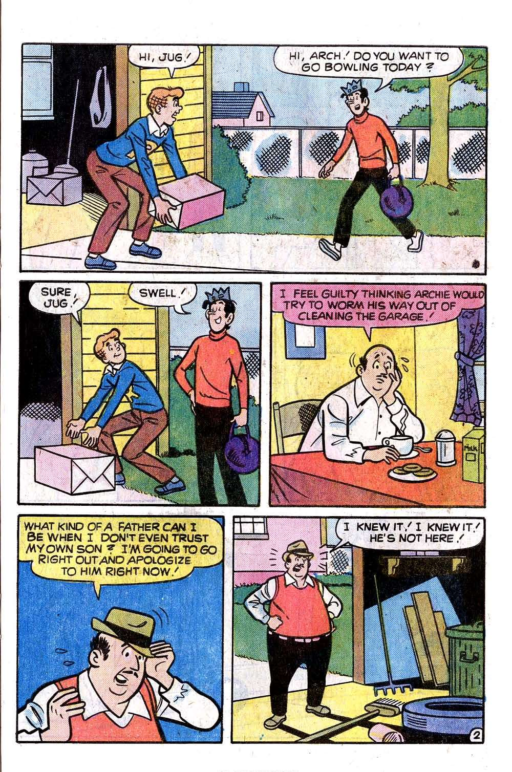 Read online Archie (1960) comic -  Issue #255 - 21