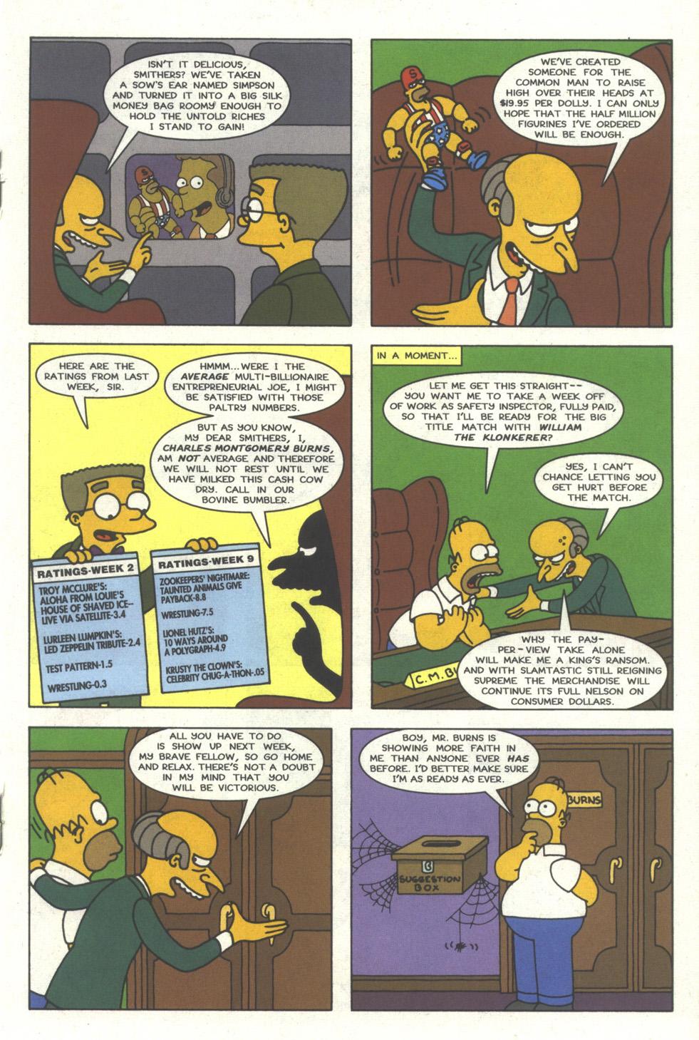 Read online Simpsons Comics comic -  Issue #29 - 18