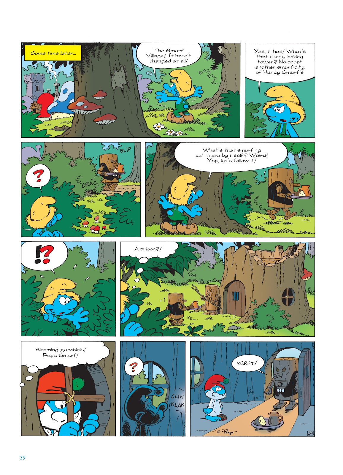 Read online The Smurfs comic -  Issue #23 - 39