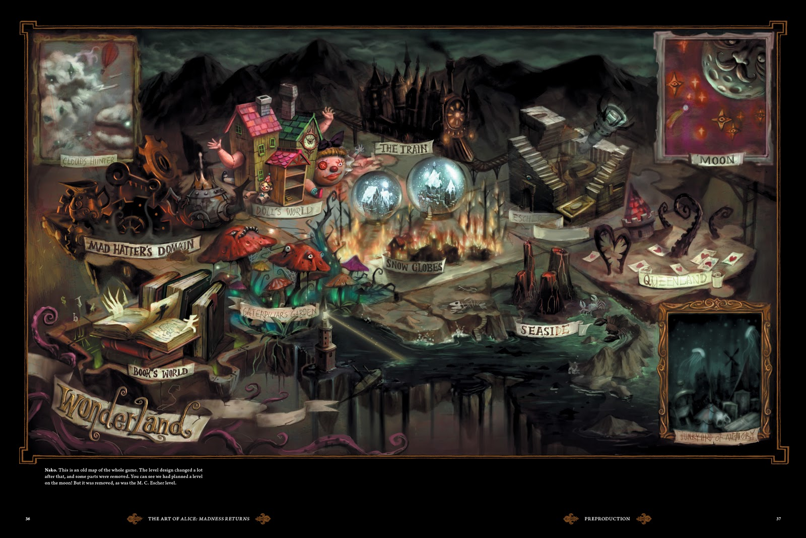 Read online The Art of Alice: Madness Returns comic -  Issue # TPB (Part 1) - 34