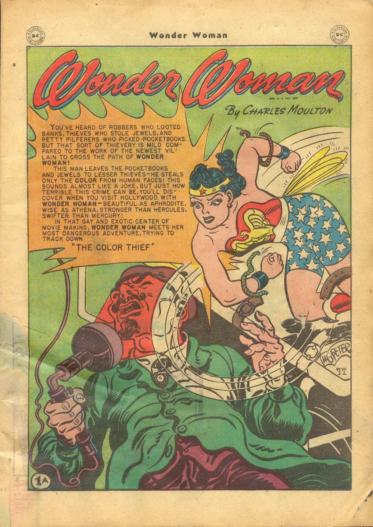 Read online Wonder Woman (1942) comic -  Issue #22 - 3