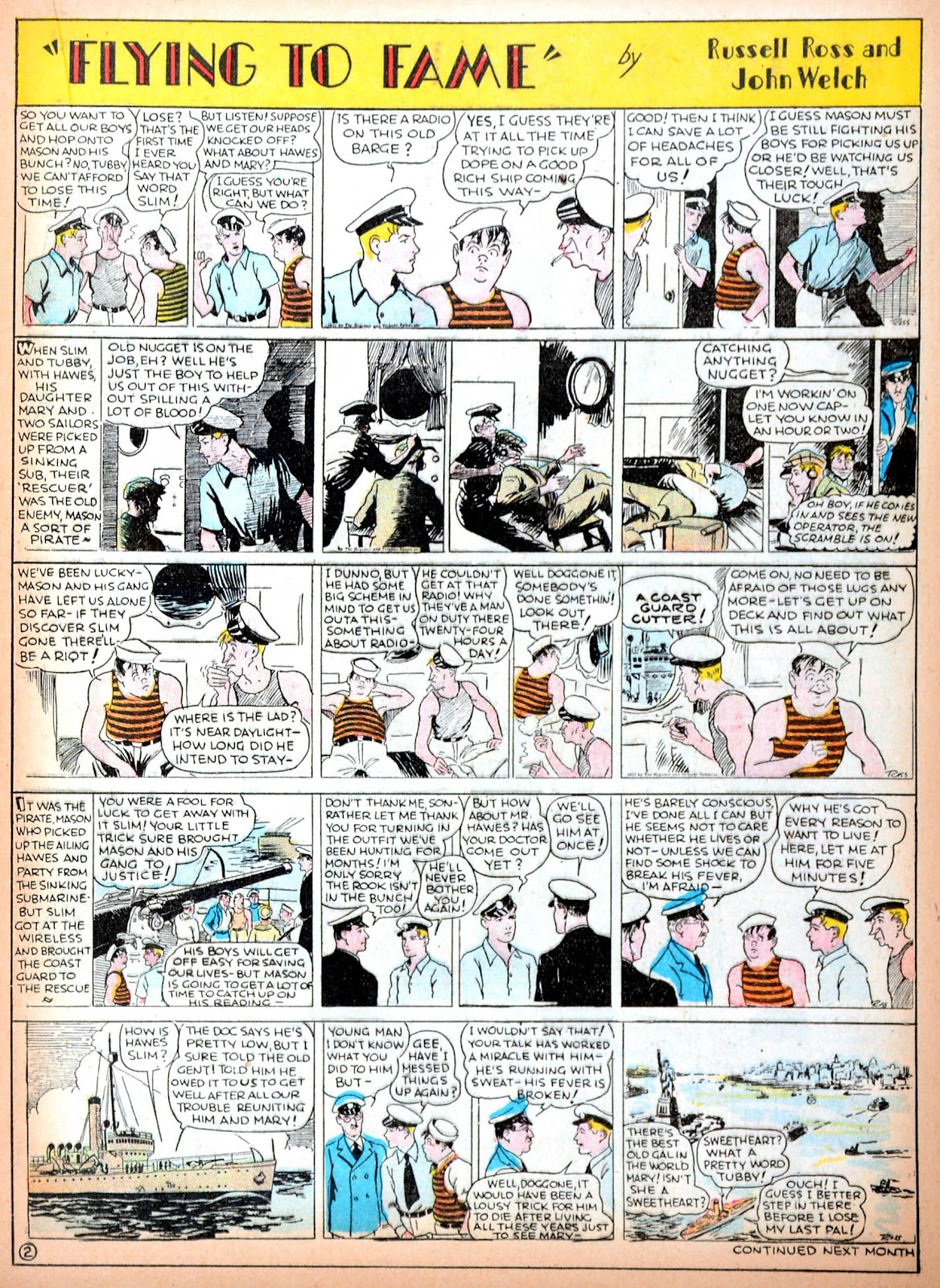 Read online Famous Funnies comic -  Issue #11 - 31