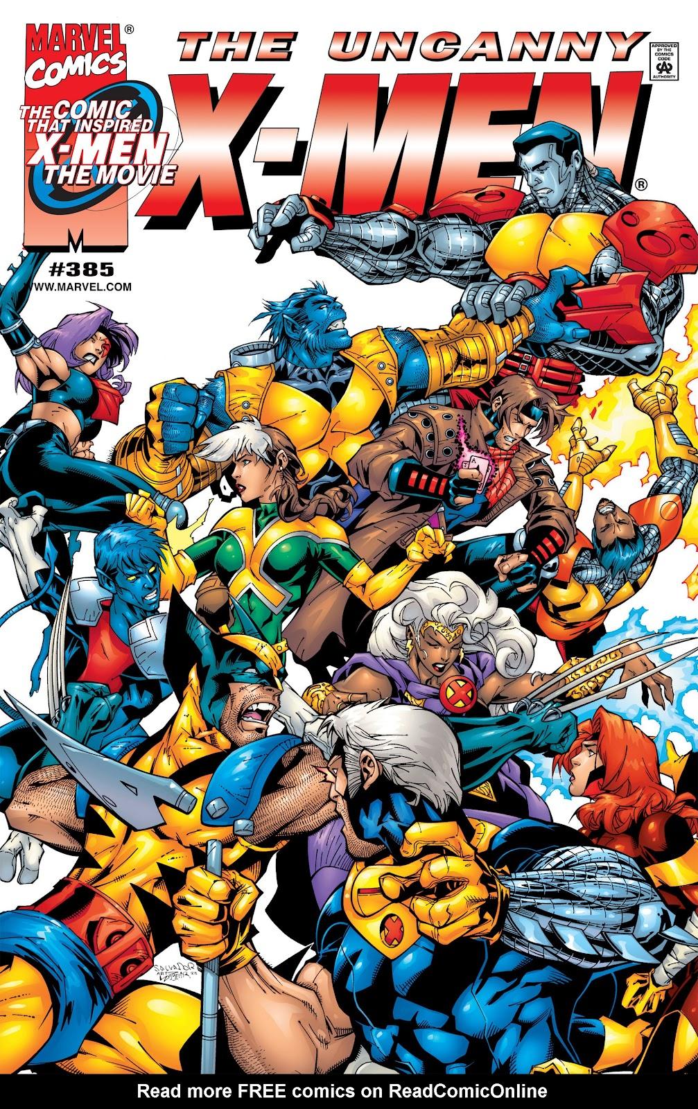 Uncanny X-Men (1963) issue 385 - Page 1