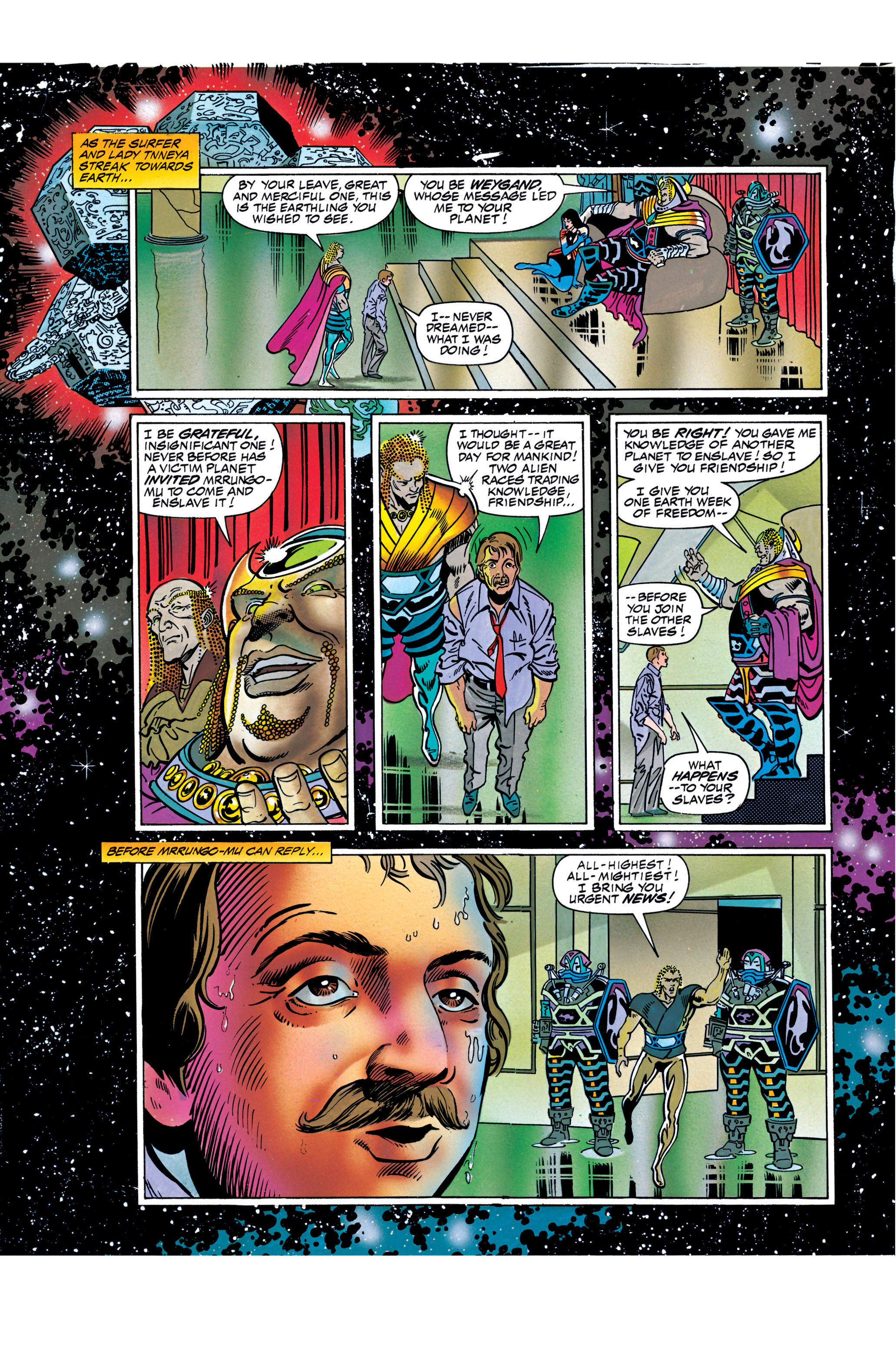 Read online Silver Surfer: Parable comic -  Issue # TPB - 107