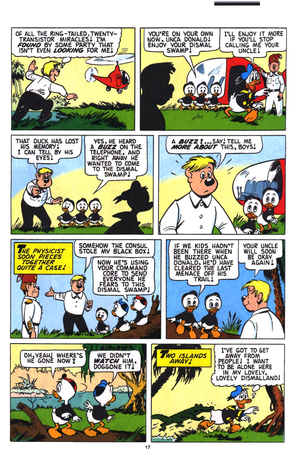 Read online Uncle Scrooge (1953) comic -  Issue #258 - 19