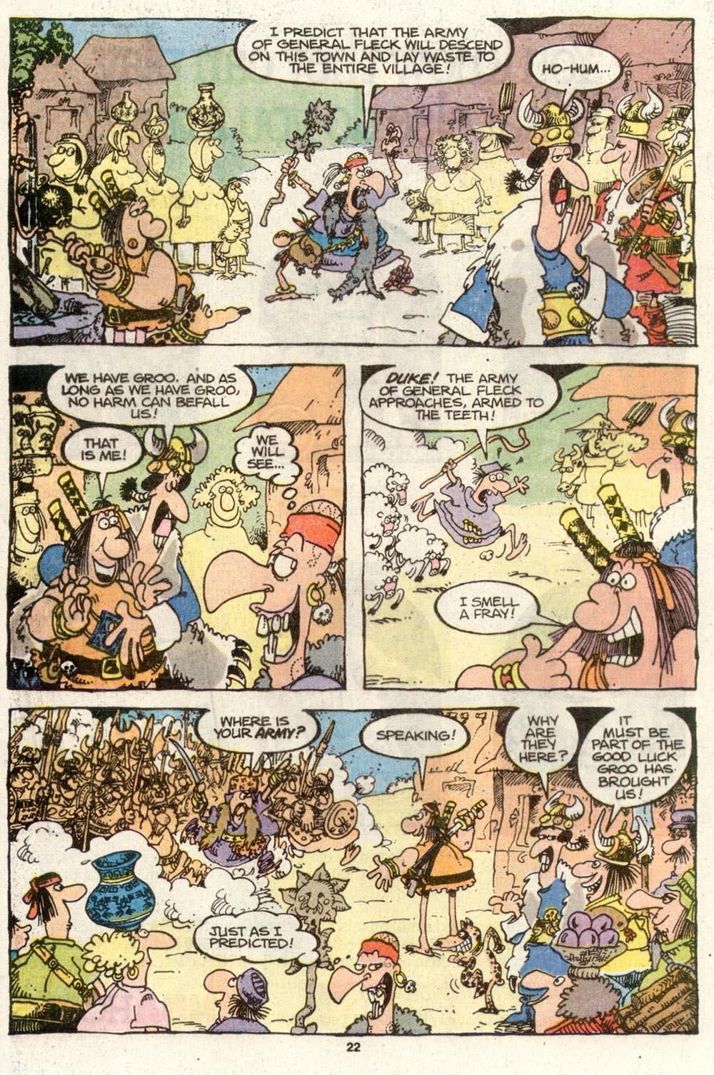 Read online Sergio Aragonés Groo the Wanderer comic -  Issue #72 - 16