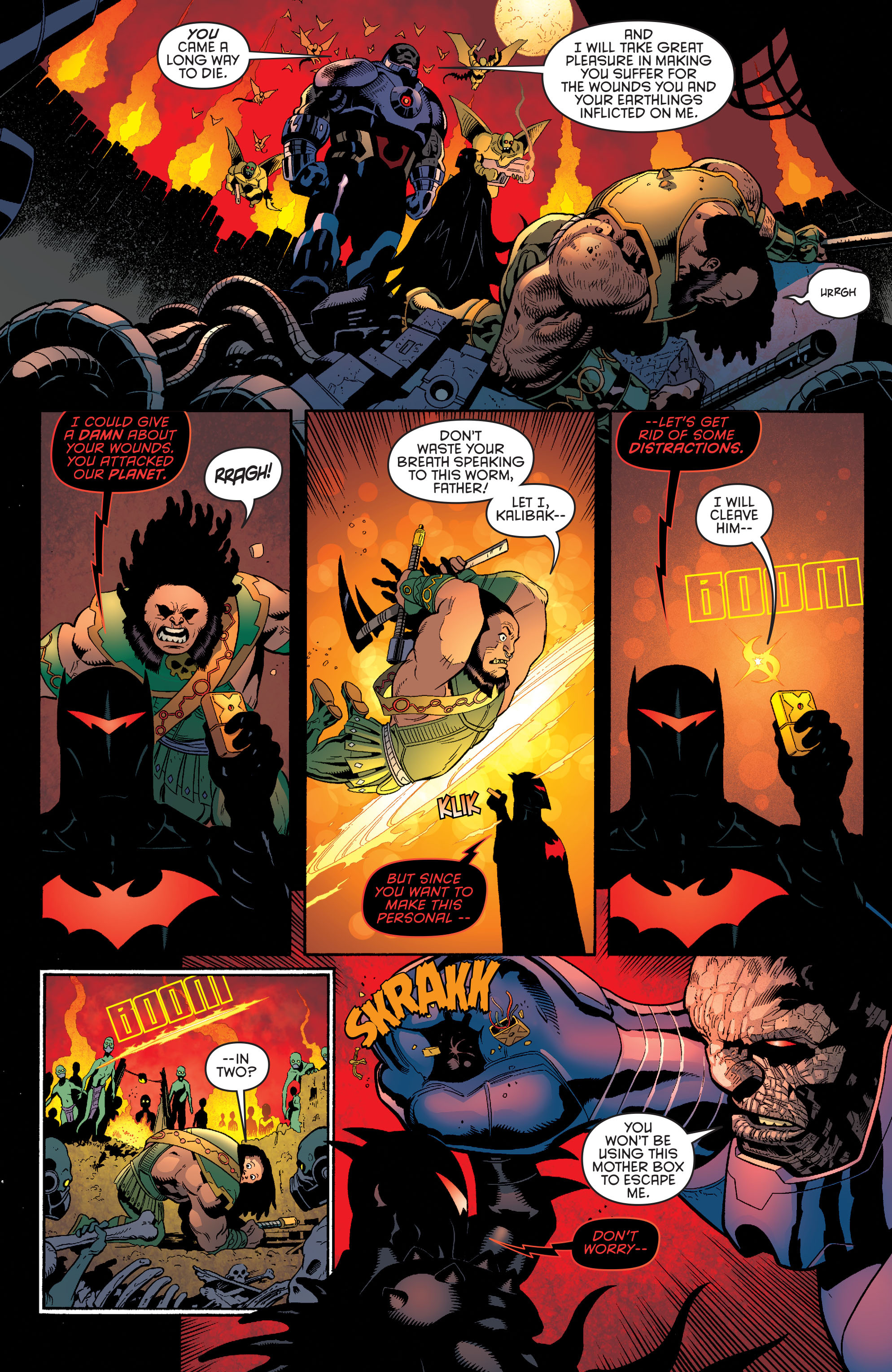 Read online Batman and Robin (2011) comic -  Issue #37 - 4