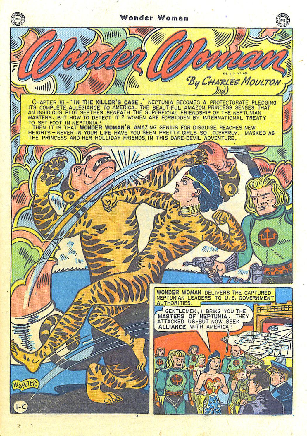 Read online Wonder Woman (1942) comic -  Issue #15 - 35