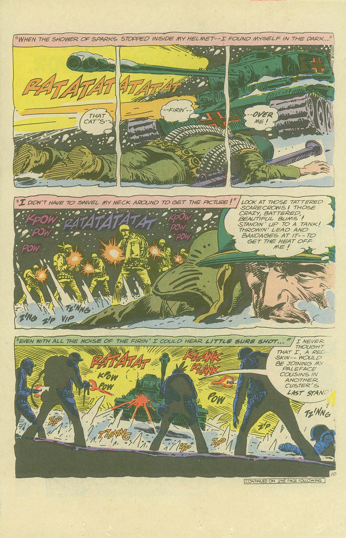 Read online Sgt. Rock comic -  Issue #404 - 13