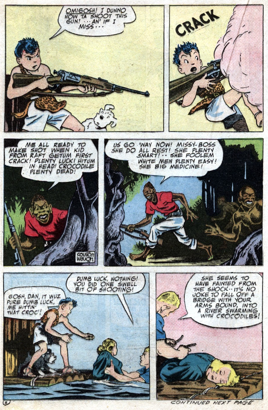 Read online Famous Funnies comic -  Issue #121 - 30
