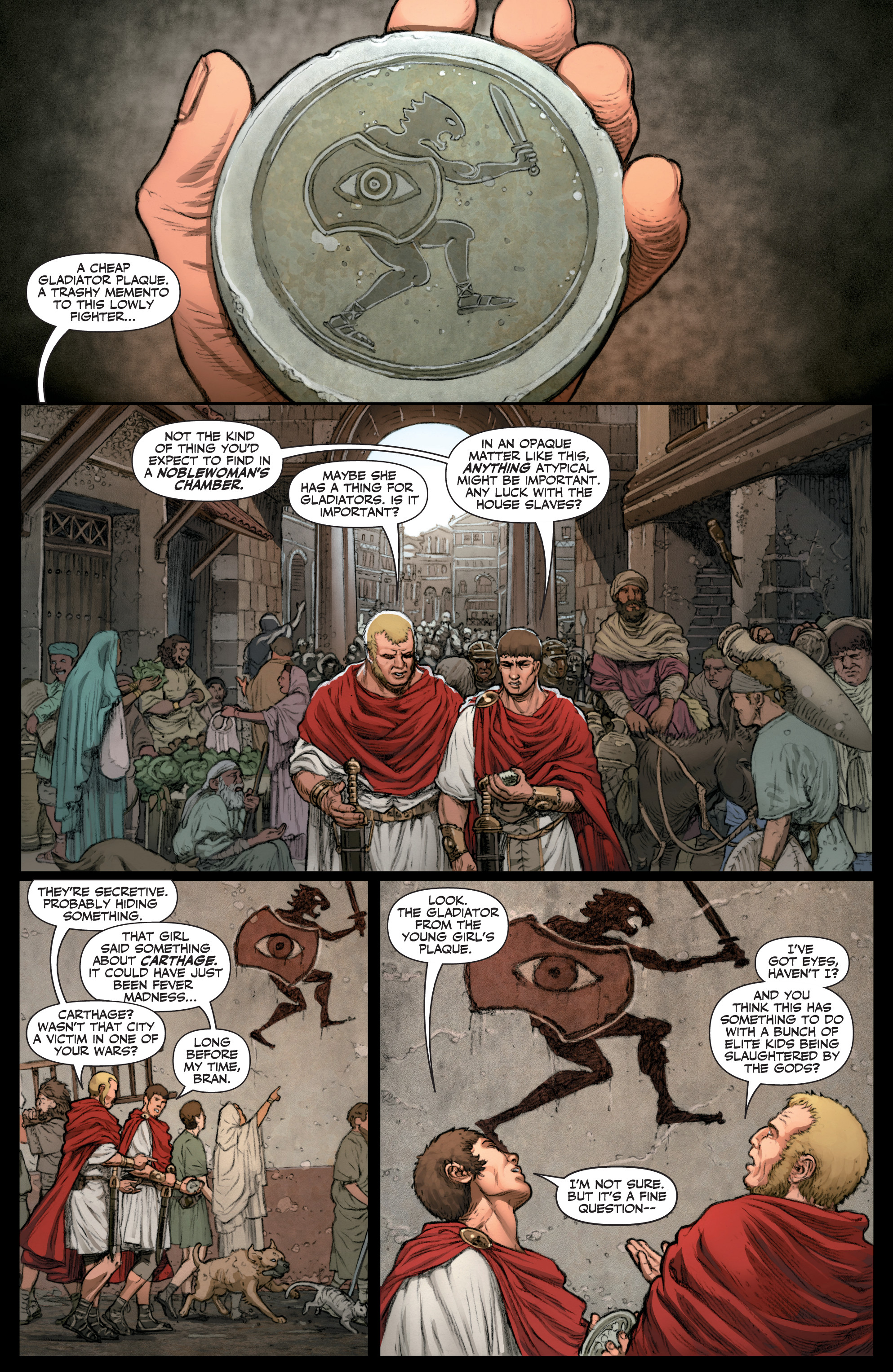 Read online Britannia: We Who Are About To Die comic -  Issue #1 - 23