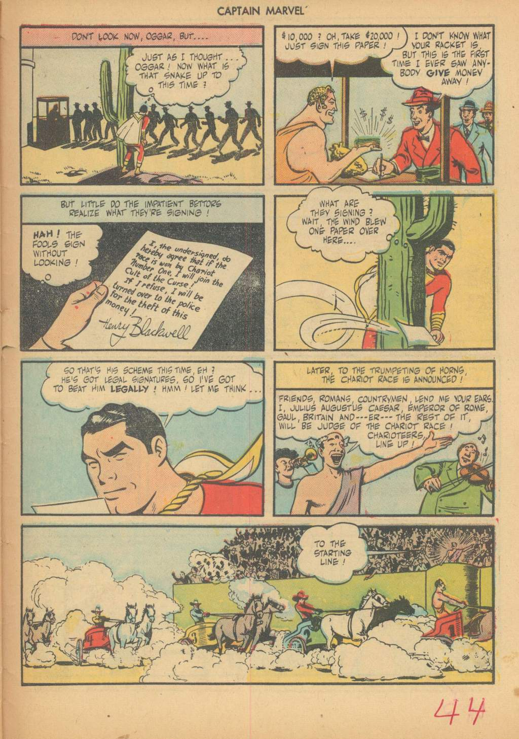 Captain Marvel Adventures issue 63 - Page 47