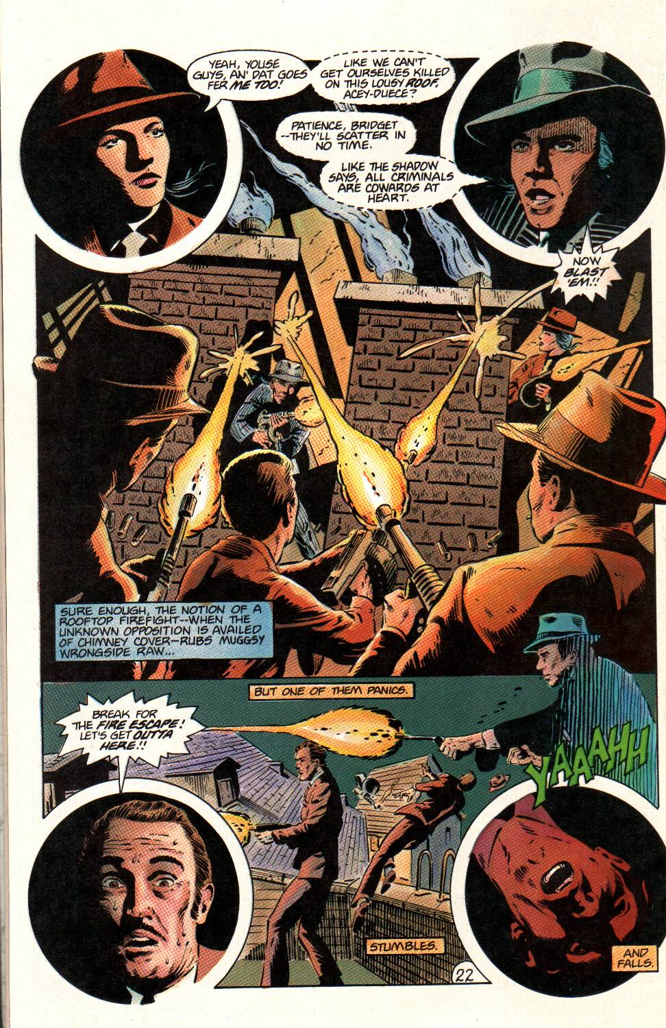 Read online Aztec Ace comic -  Issue #12 - 22