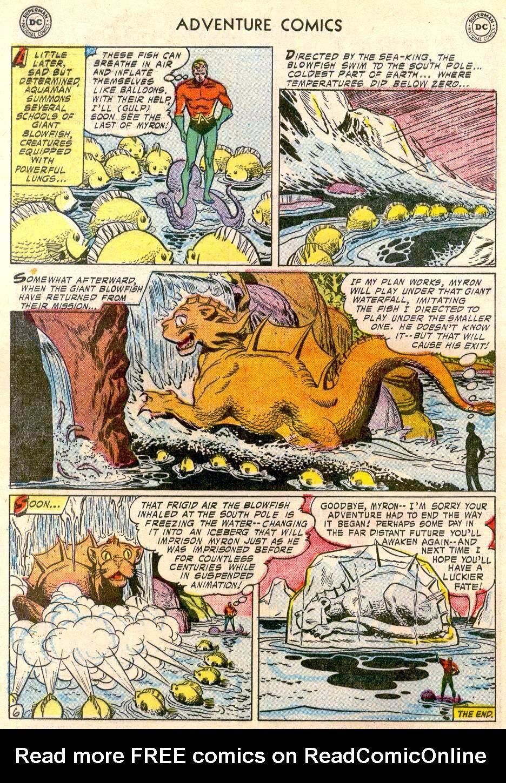 Read online Adventure Comics (1938) comic -  Issue #244 - 32