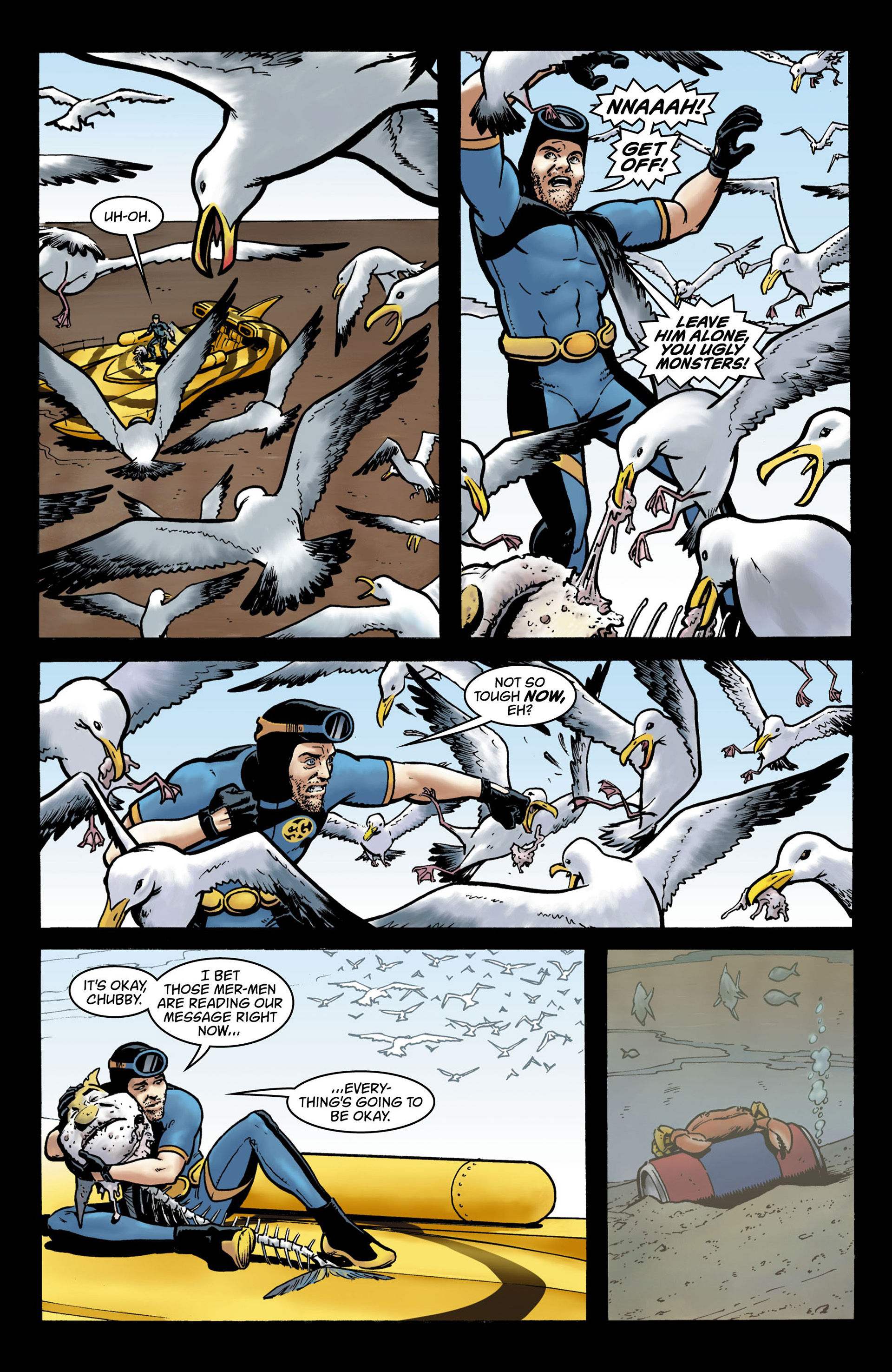 Read online Seaguy comic -  Issue #3 - 3