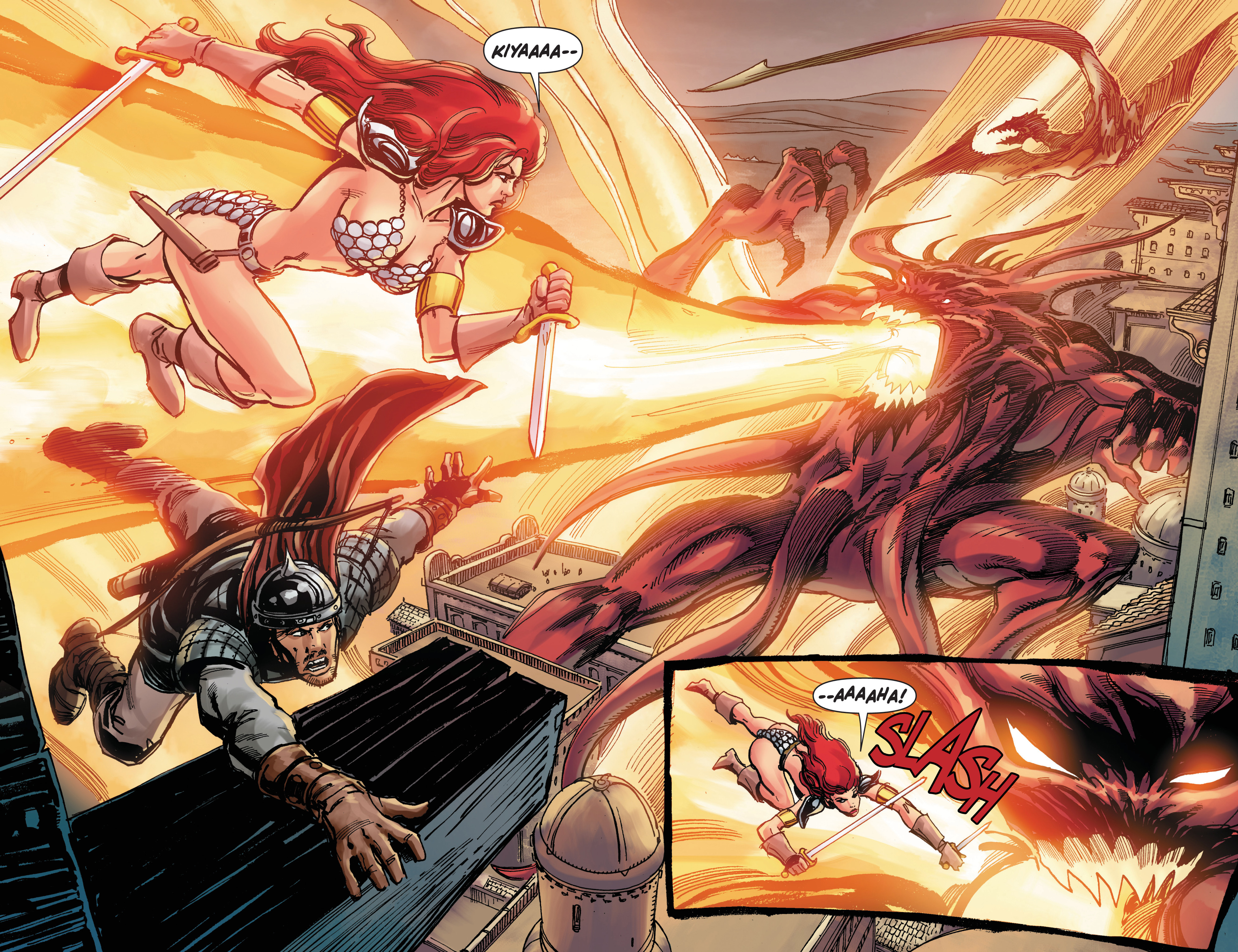 Read online Red Sonja: The Long Walk To Oblivion comic -  Issue # Full - 28