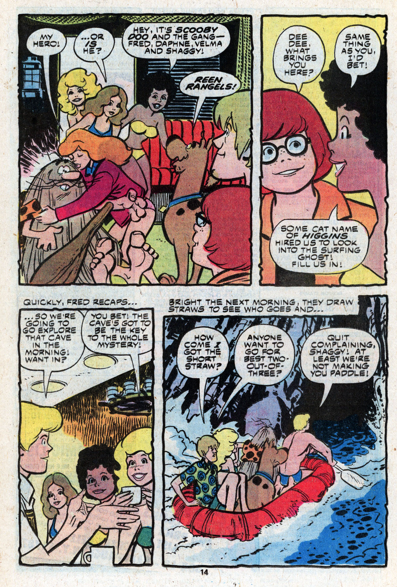 Read online Scooby-Doo (1977) comic -  Issue #9 - 16