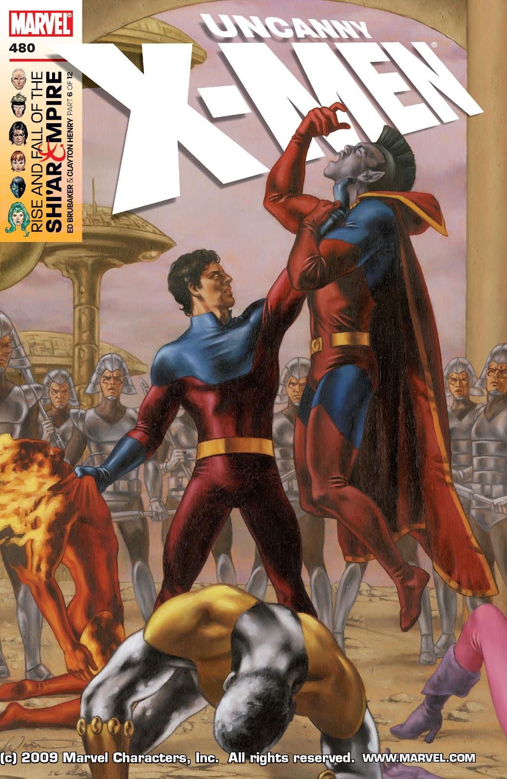 Uncanny X-Men (1963) issue 480 - Page 1