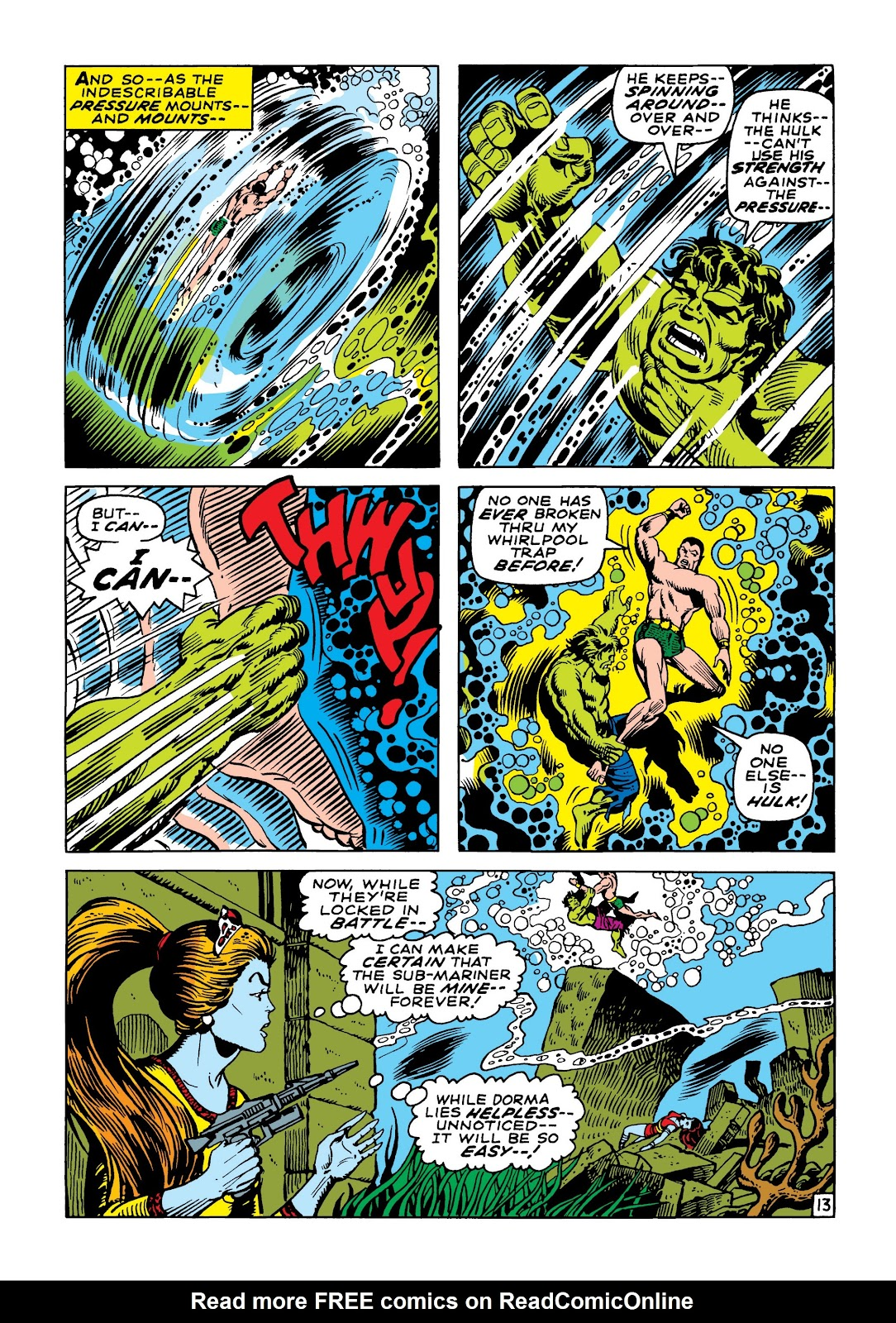 Read online Marvel Masterworks: The Incredible Hulk comic -  Issue # TPB 5 (Part 2) - 66