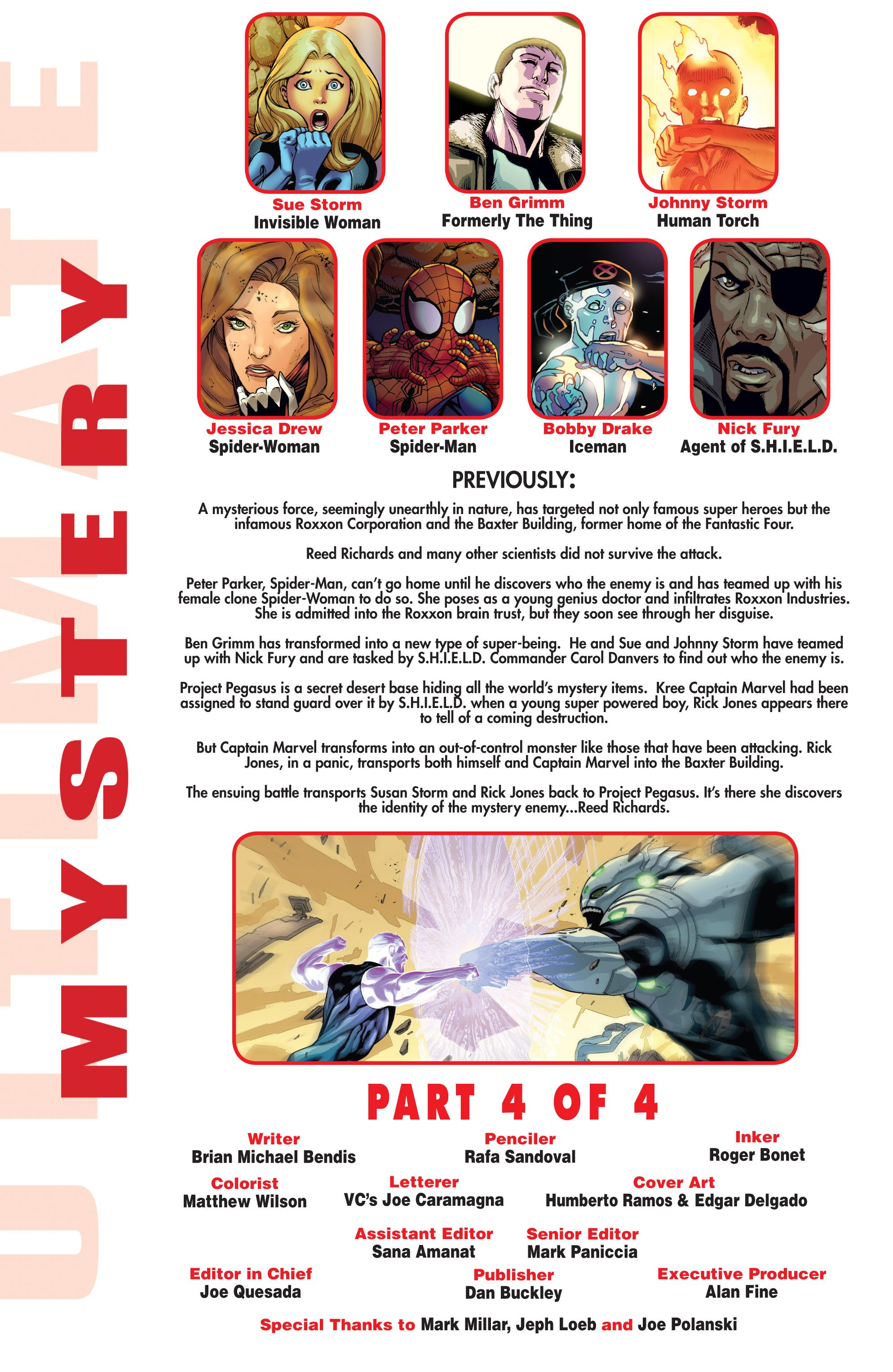 Read online Ultimate Mystery comic -  Issue #4 - 2
