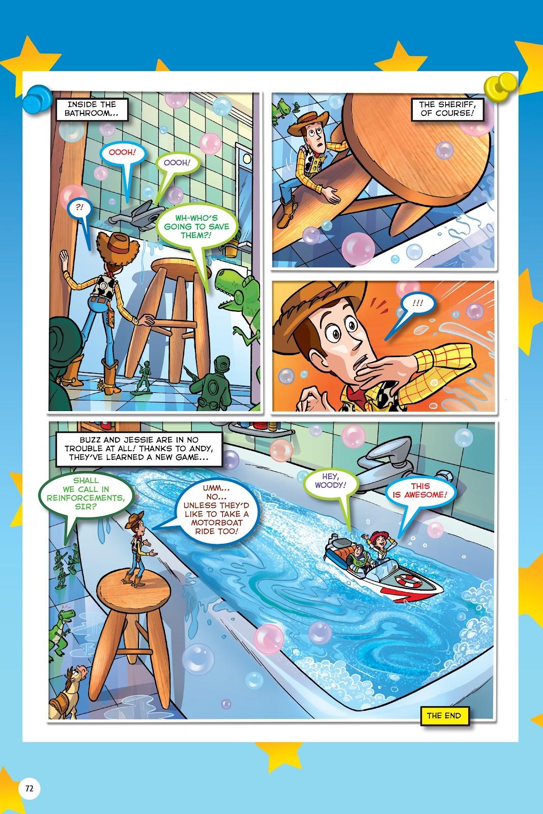 Read online DISNEY·PIXAR Toy Story Adventures comic -  Issue # TPB 1 (Part 1) - 72