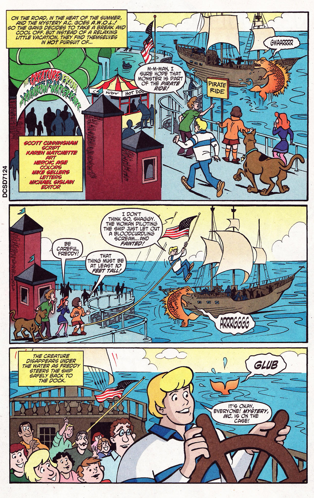 Read online Scooby-Doo (1997) comic -  Issue #121 - 15