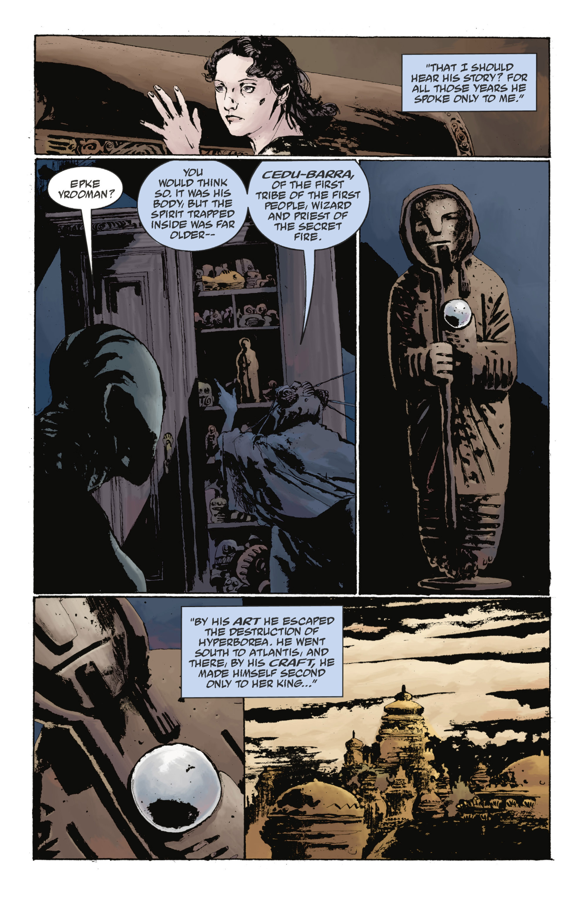 Read online Abe Sapien: The Drowning comic -  Issue #Abe Sapien: The Drowning _TPB - 100