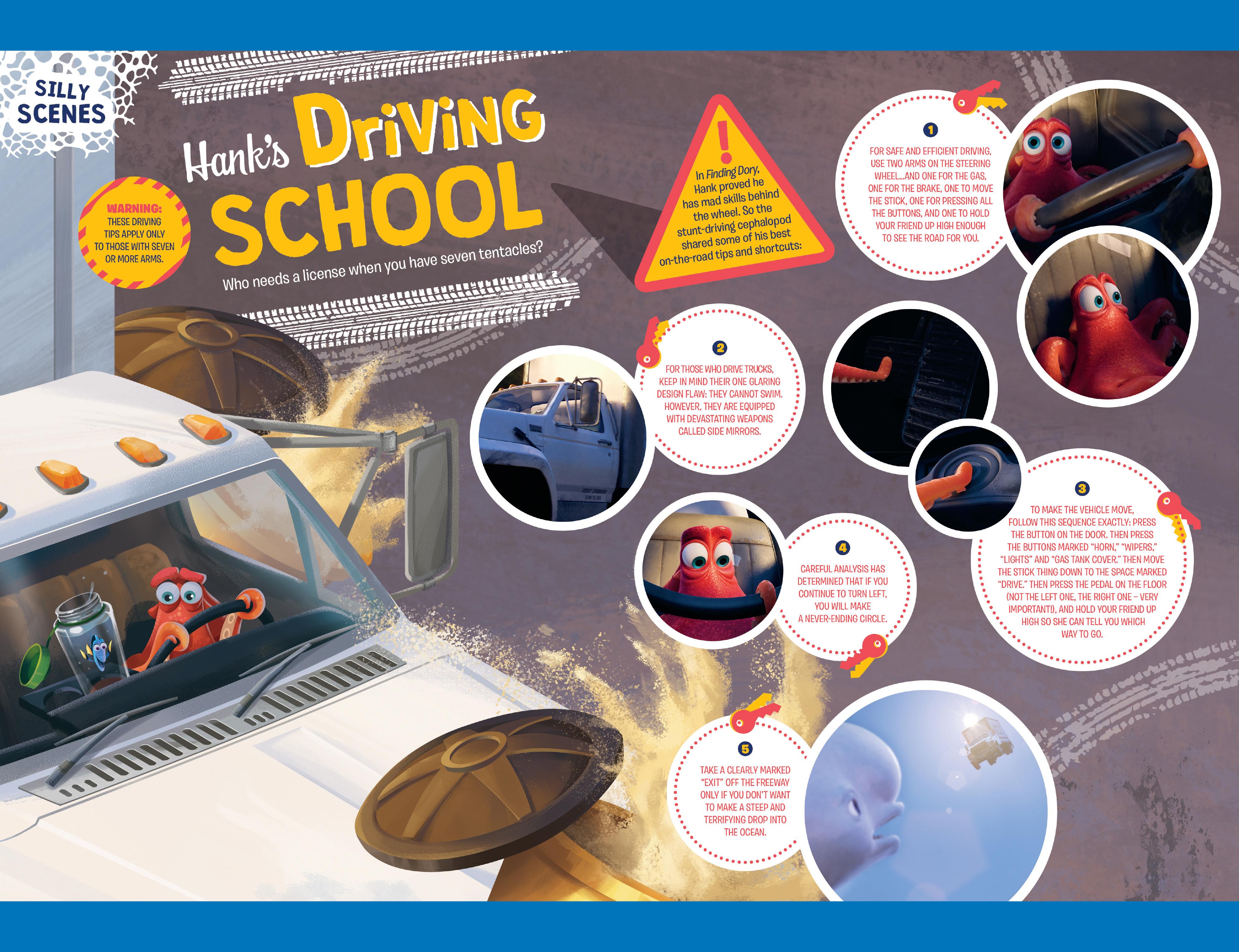 Read online Disney Pixar Finding Dory comic -  Issue #3 - 31
