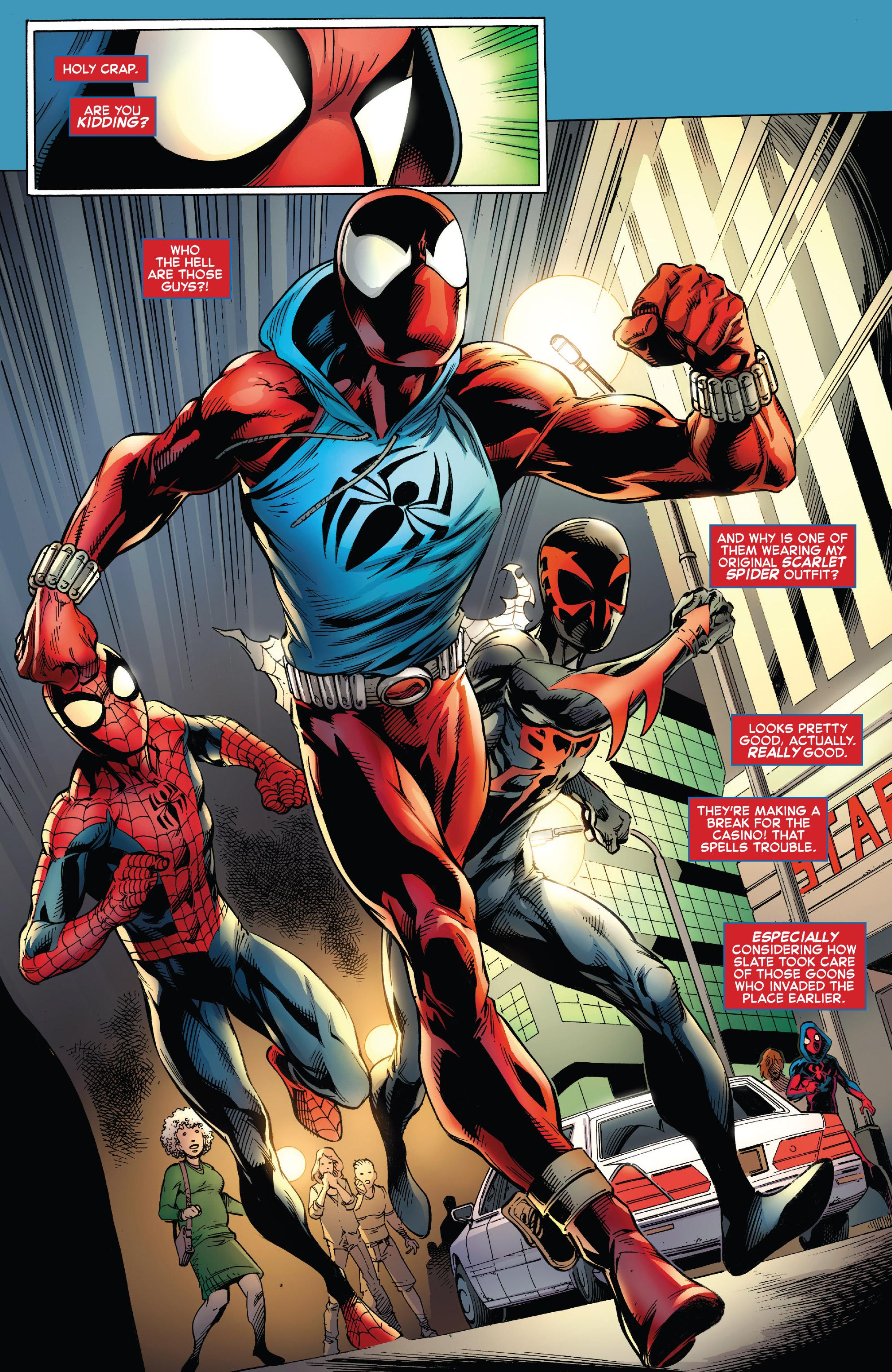 Read online Ben Reilly: Scarlet Spider comic -  Issue #3 - 12
