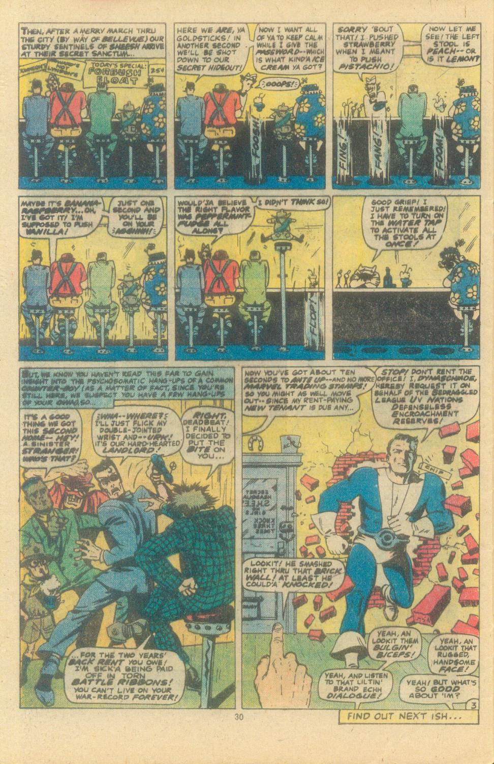 Read online Sgt. Fury comic -  Issue #163 - 32