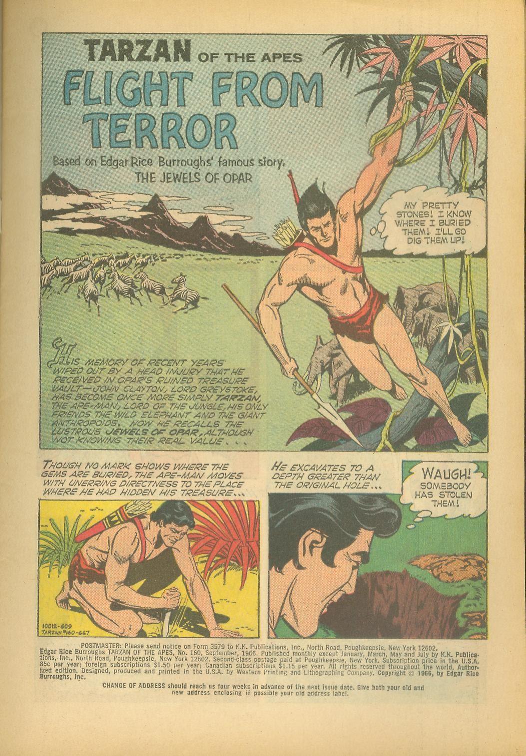 Tarzan (1962) issue 160 - Page 3