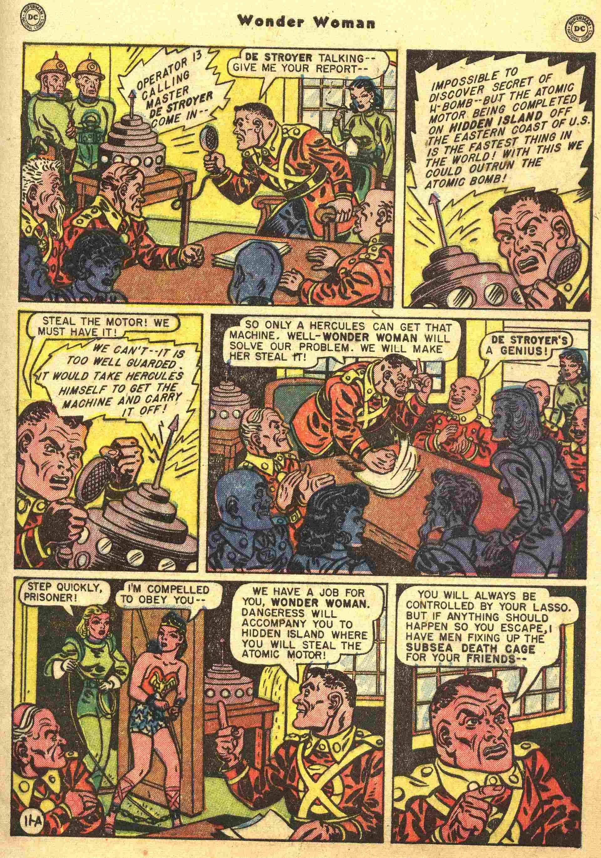 Read online Wonder Woman (1942) comic -  Issue #44 - 12