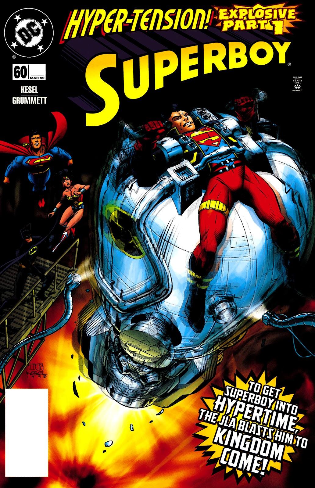 Superboy (1994) 60 Page 1