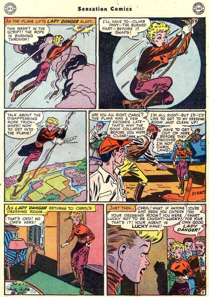 Read online Sensation (Mystery) Comics comic -  Issue #89 - 45