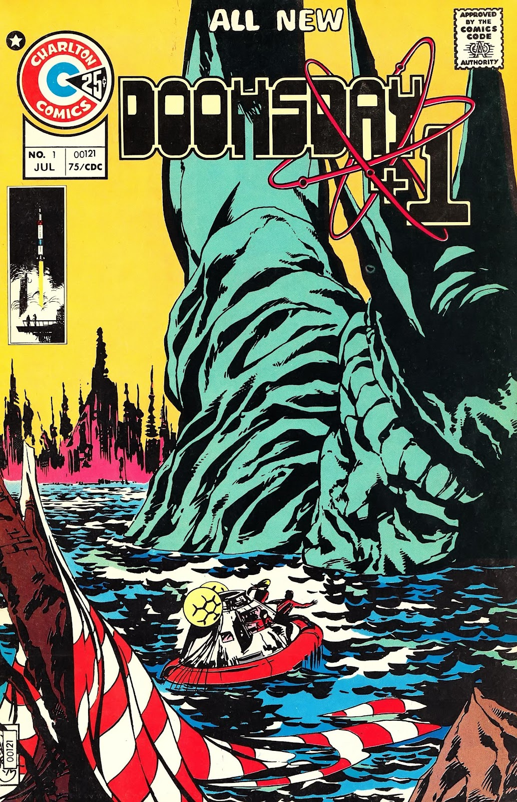 Read online Doomsday   1 (1975) comic -  Issue #1 - 2