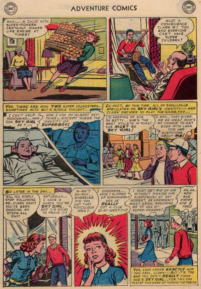 Read online Adventure Comics (1938) comic -  Issue #189 - 10
