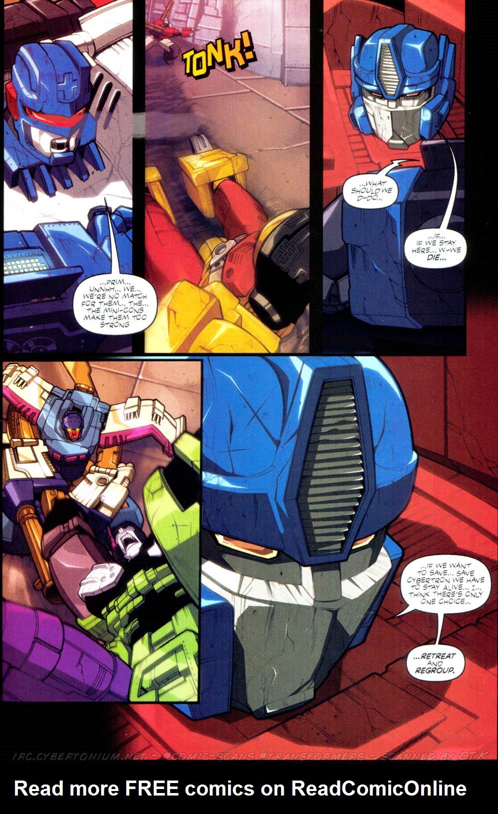 Read online Transformers Armada comic -  Issue #2 - 21