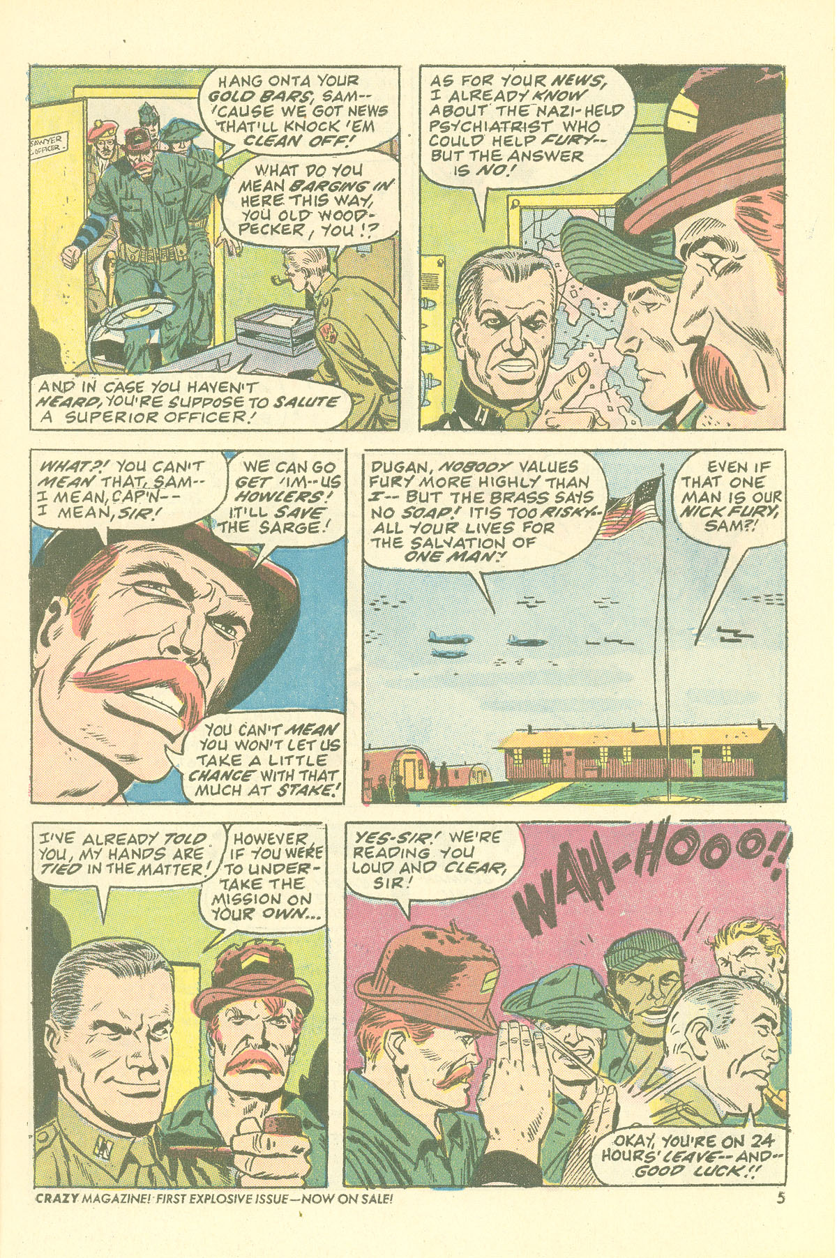 Read online Sgt. Fury comic -  Issue #115 - 7