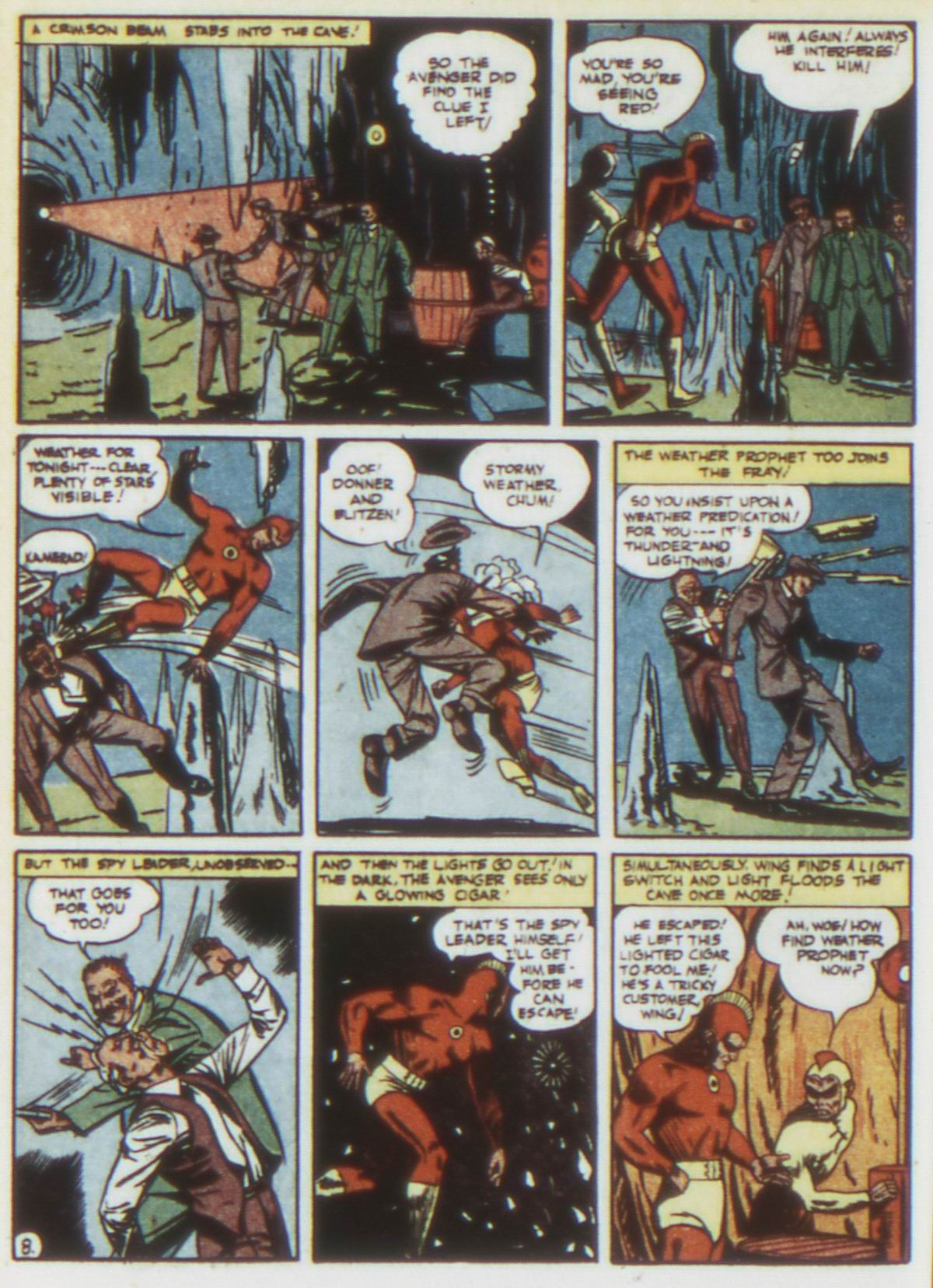 Read online Detective Comics (1937) comic -  Issue #75 - 38
