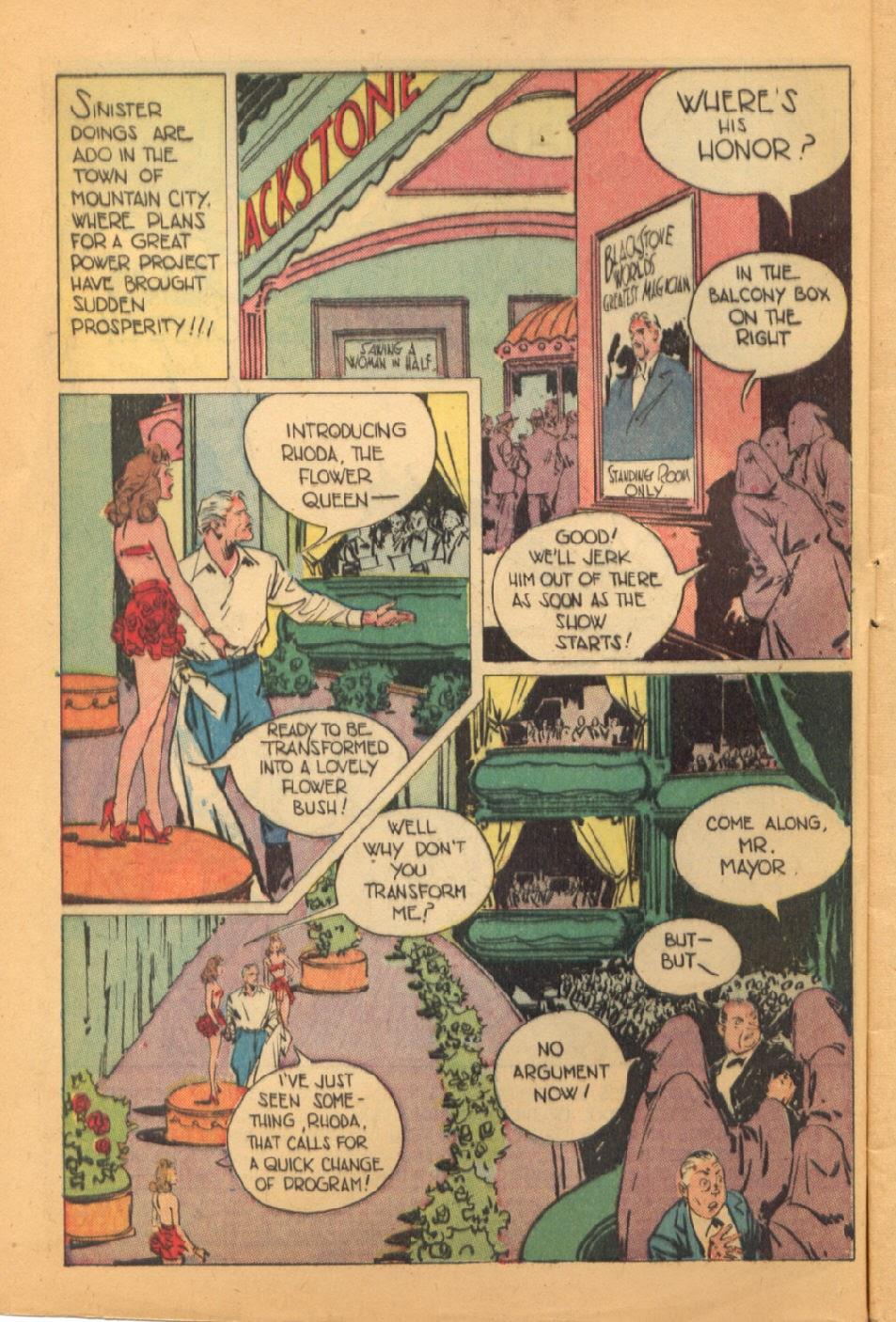 Read online Super-Magician Comics comic -  Issue #44 - 4