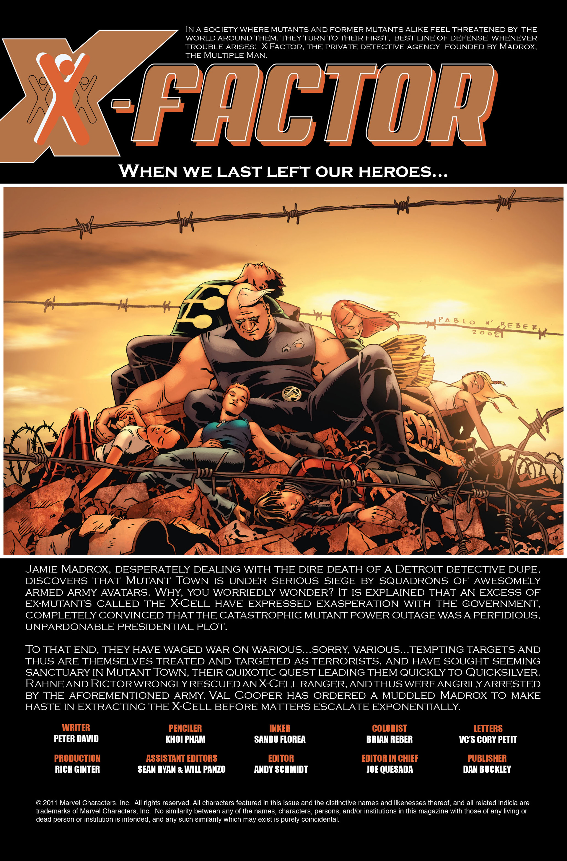 Read online X-Factor (2006) comic -  Issue #18 - 2