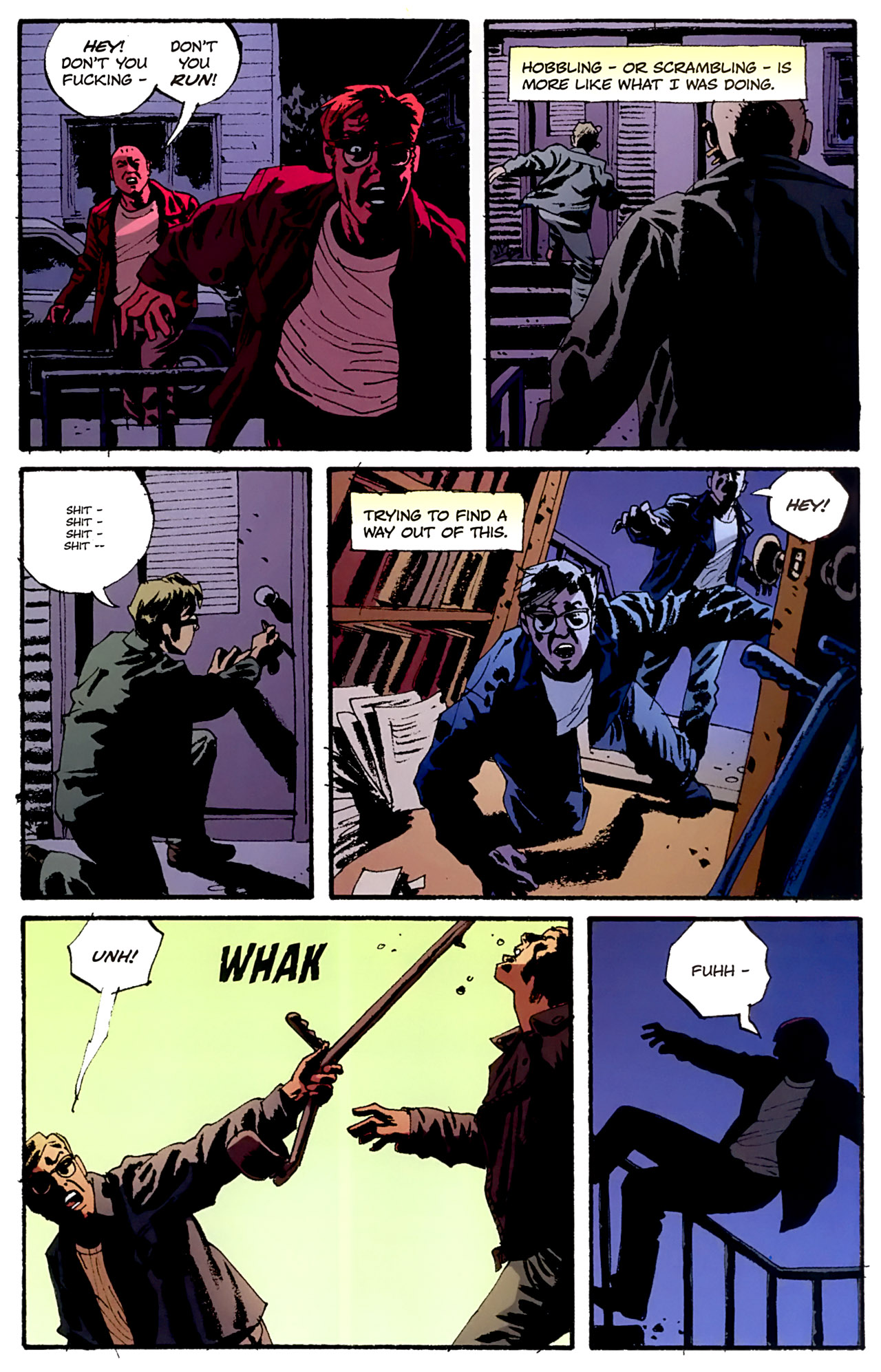 Read online Criminal (2008) comic -  Issue #4 - 25