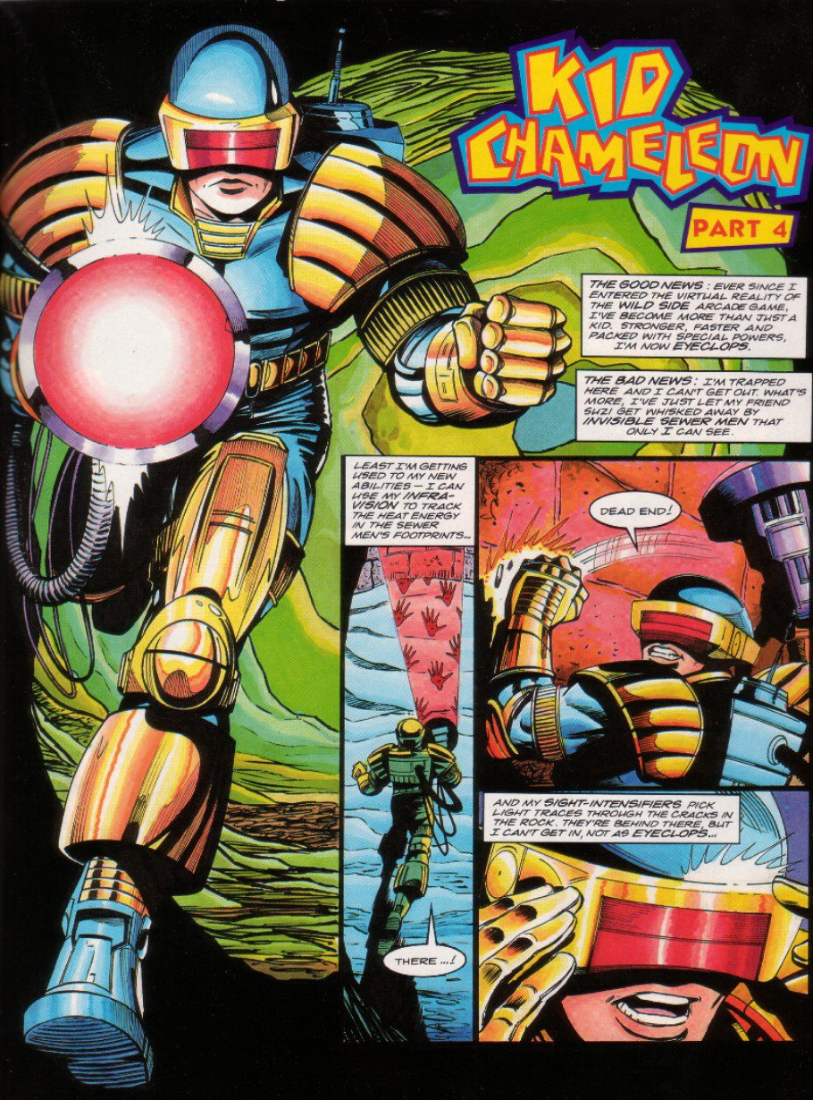Read online Sonic the Comic comic -  Issue #10 - 12