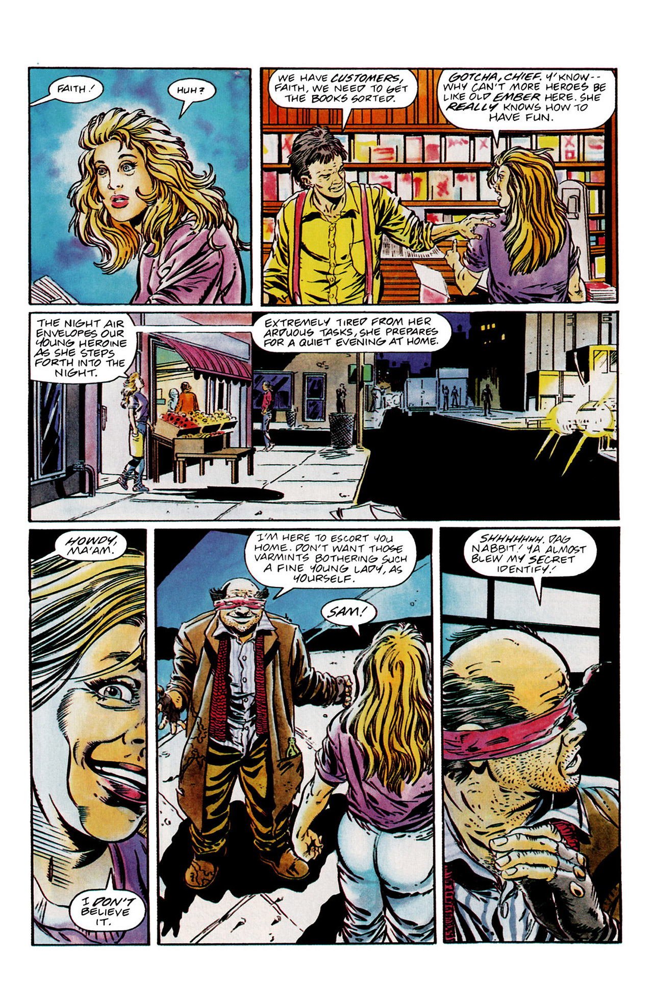 Read online Harbinger (1992) comic -  Issue #13 - 6