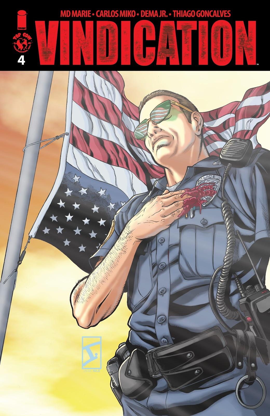 Read online Vindication comic -  Issue #4 - 1