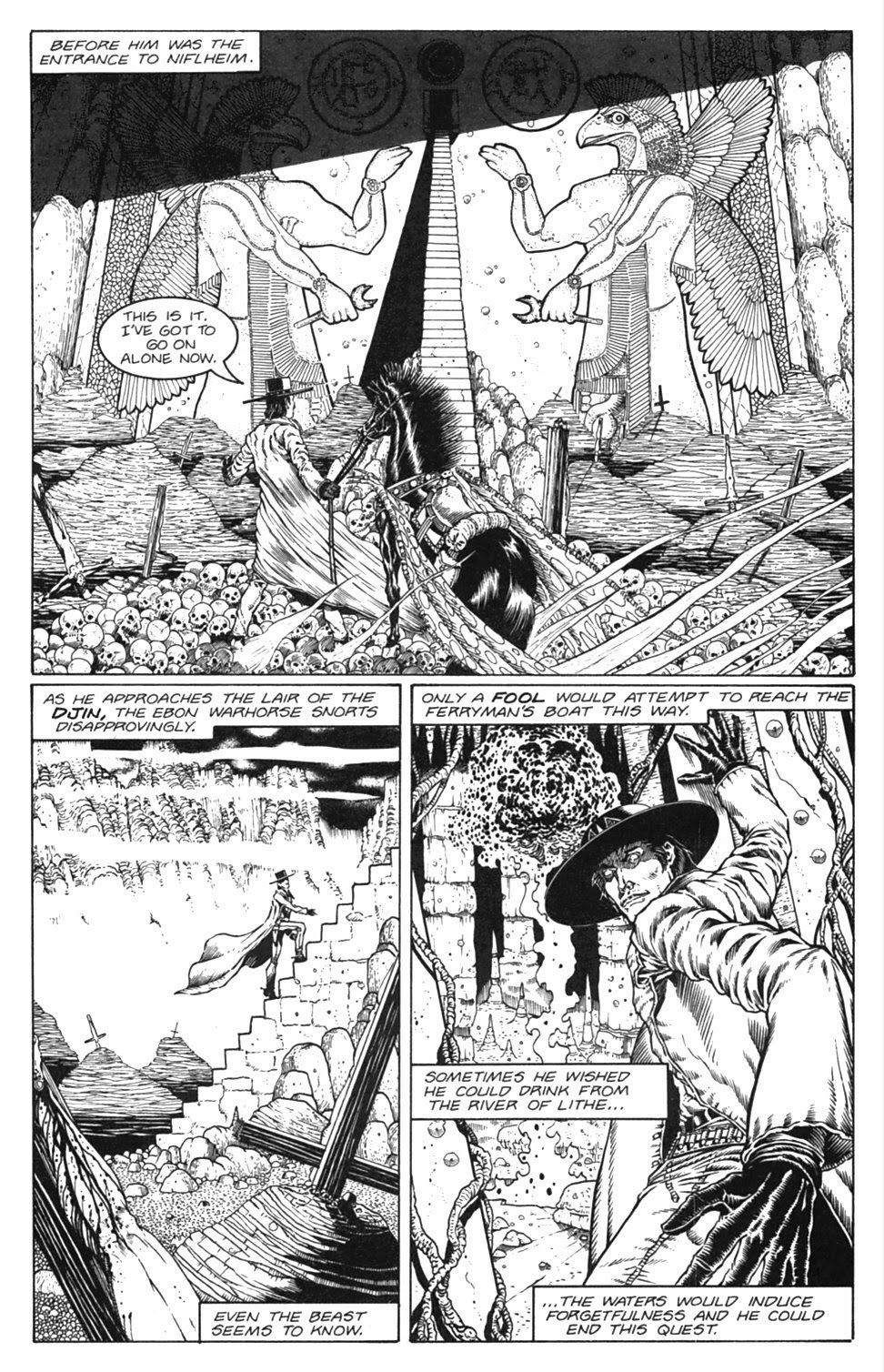 Read online Gunfighters in Hell comic -  Issue #3 - 12